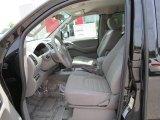 2013 Nissan Frontier S King Cab Steel Interior