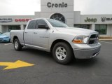 2012 Bright Silver Metallic Dodge Ram 1500 SLT Quad Cab #82846265