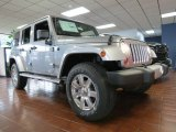 2013 Billet Silver Metallic Jeep Wrangler Unlimited Sahara 4x4 #82846263