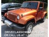 2011 Mango Tango Pearl Jeep Wrangler Sahara 4x4 #82846442