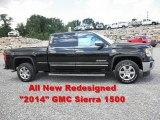 2014 Onyx Black GMC Sierra 1500 SLT Crew Cab 4x4 #82846547