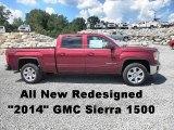 2014 Sonoma Red Metallic GMC Sierra 1500 SLE Crew Cab 4x4 #82846544