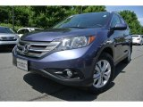 2012 Twilight Blue Metallic Honda CR-V EX-L #82846429