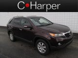 2012 Dark Cherry Kia Sorento LX AWD #82846533