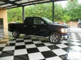 2006 Patriot Blue Pearl Dodge Ram 1500 Laramie Quad Cab #82896054