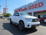2007 Super White Toyota Tundra Limited CrewMax #82895696