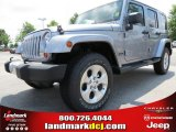 2013 Billet Silver Metallic Jeep Wrangler Unlimited Sahara 4x4 #82895741