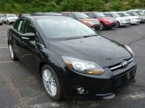 2013 Tuxedo Black Ford Focus Titanium Sedan #82895728