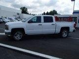 2014 Summit White Chevrolet Silverado 1500 LT Crew Cab 4x4 #82896021