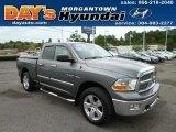 2010 Mineral Gray Metallic Dodge Ram 1500 Big Horn Quad Cab 4x4 #82895950