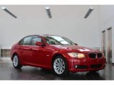 2009 Crimson Red BMW 3 Series 328i Sedan #82895846