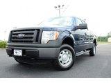 2011 Dark Blue Pearl Metallic Ford F150 XL SuperCab 4x4 #82895897