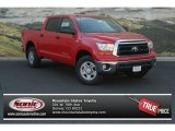 2013 Radiant Red Toyota Tundra CrewMax 4x4 #82895619