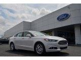 2013 White Platinum Metallic Tri-coat Ford Fusion SE 1.6 EcoBoost #82925127