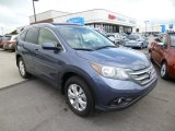 2012 Twilight Blue Metallic Honda CR-V EX-L 4WD #82925471