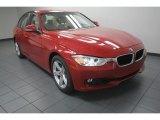 2013 Melbourne Red Metallic BMW 3 Series 328i Sedan #82925280