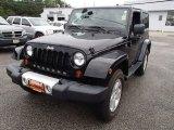 2012 Black Jeep Wrangler Sahara 4x4 #82924982