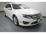2011 White Platinum Tri-Coat Ford Fusion Sport #82925324