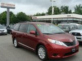 2011 Salsa Red Pearl Toyota Sienna LE AWD #82969899