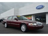 2009 Dark Toreador Red Metallic Mercury Grand Marquis LS #82969792