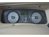2009 Mercury Grand Marquis LS Gauges