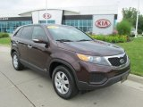 2012 Dark Cherry Kia Sorento LX AWD #82970101