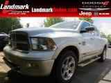 2012 Bright White Dodge Ram 1500 Laramie Longhorn Crew Cab 4x4 #82969783