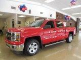 2014 Victory Red Chevrolet Silverado 1500 LT Z71 Crew Cab 4x4 #82969665