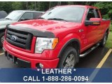 2010 Vermillion Red Ford F150 FX4 SuperCab 4x4 #82970084