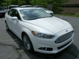 2013 White Platinum Metallic Tri-coat Ford Fusion Titanium #82969736