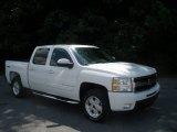 2009 Summit White Chevrolet Silverado 1500 LTZ Crew Cab 4x4 #82970173