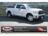 2013 Super White Toyota Tundra SR5 TRD Double Cab 4x4 #82969529