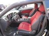 2013 Dodge Challenger R/T Redline Radar Red/Dark Slate Gray Interior