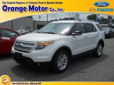 2013 White Platinum Tri-Coat Ford Explorer XLT 4WD #82969824
