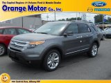 2014 Sterling Gray Ford Explorer XLT 4WD #82969810
