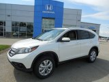 2013 White Diamond Pearl Honda CR-V EX-L AWD #82970119