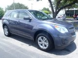 2013 Atlantis Blue Metallic Chevrolet Equinox LS #83017797