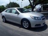 2013 Silver Ice Metallic Chevrolet Malibu LS #83017788