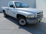 2001 Bright Silver Metallic Dodge Ram 1500 ST Regular Cab #83017363