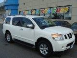 2012 Blizzard White Nissan Armada SV 4WD #83017777