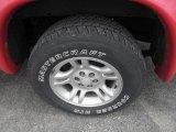 Dodge Dakota 2002 Wheels and Tires