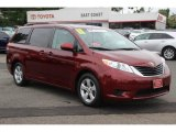2011 Salsa Red Pearl Toyota Sienna LE #83017264