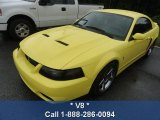 2003 Zinc Yellow Ford Mustang Cobra Coupe #83017569