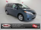 2013 Shoreline Blue Pearl Toyota Sienna LE #83017534