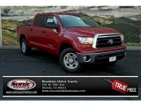 2013 Barcelona Red Metallic Toyota Tundra CrewMax 4x4 #83017041