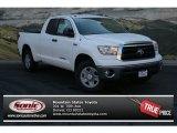 2013 Super White Toyota Tundra Double Cab 4x4 #83017038
