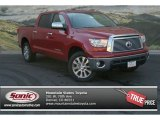 2013 Barcelona Red Metallic Toyota Tundra Platinum CrewMax 4x4 #83017037