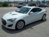 2013 White Satin Pearl Hyundai Genesis Coupe 2.0T Premium #83017125