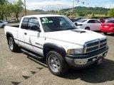 2001 Bright White Dodge Ram 1500 ST Club Cab #8304394