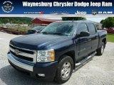 2008 Dark Blue Metallic Chevrolet Silverado 1500 LT Crew Cab 4x4 #83017315